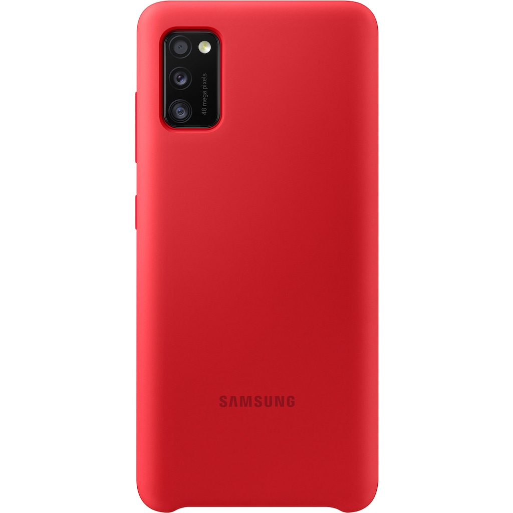 Samsung Smartphone-Hülle »Silicone Cover EF-PA415 Galaxy A41«, Samsung Galaxy A41