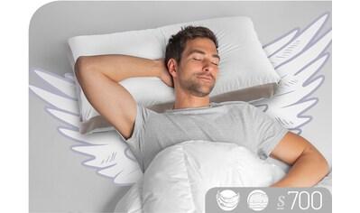 Schlafstil Nackenstützkissen »S700«, Füllung: 100% Gänsedaunen, Bezug: 100% Baumwolle, (1 St.), hergestellt in Deutschland, allergikerfreundlich kaufen
