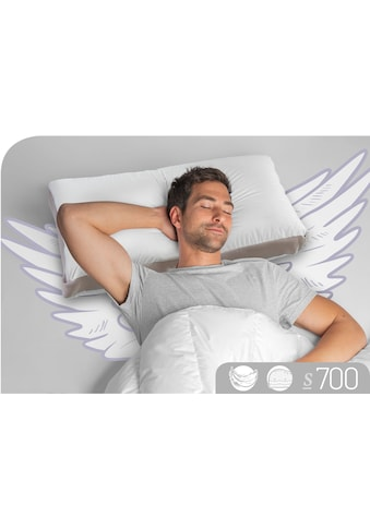 Nackenstützkissen, »S700«, Schlafstil, Füllung: 100% Gänsedaunen, Bezug: 100% Baumwolle kaufen