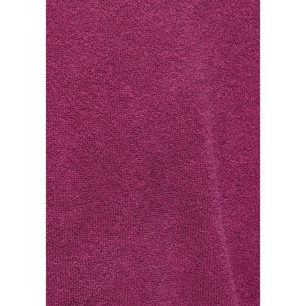 my home Damenbademantel »Sina«, (1 St.), in modernen Unifarben