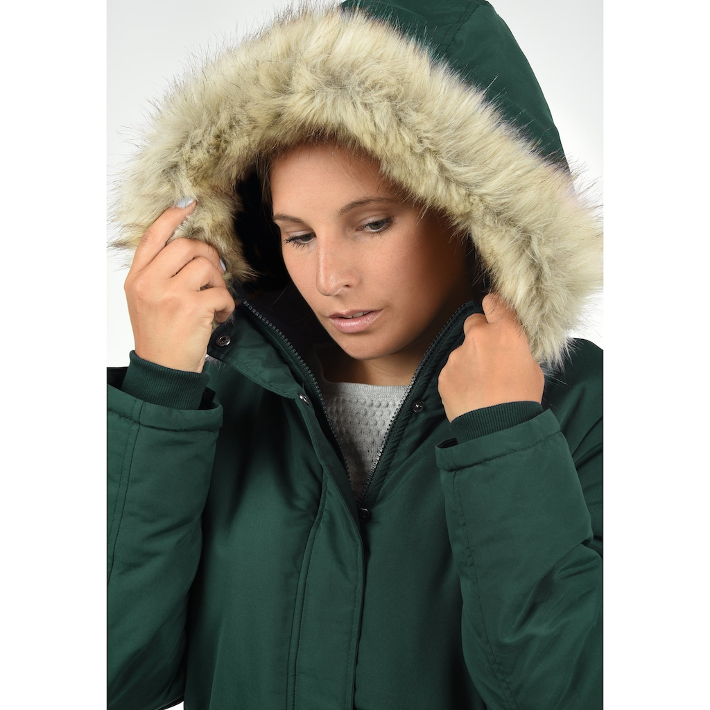 JACQUELINE de YONG Parka »Paola«, warme Jacke mit abnehmbarer Kapuze