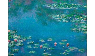 Art for the home Leinwandbild »Wasserlilien (Monet)«, Natur kaufen