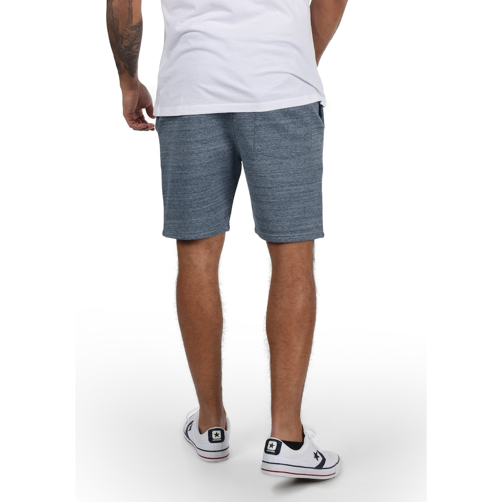 Blend Sweatshorts »Henno«, kurze Hose mit Gummi-Patch