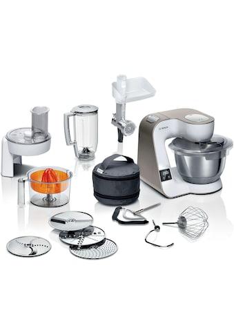 BOSCH Küchenmaschine »MUM5XW40 MUM5«, integrierte Waage, Profi-Patisserie-Set,... kaufen