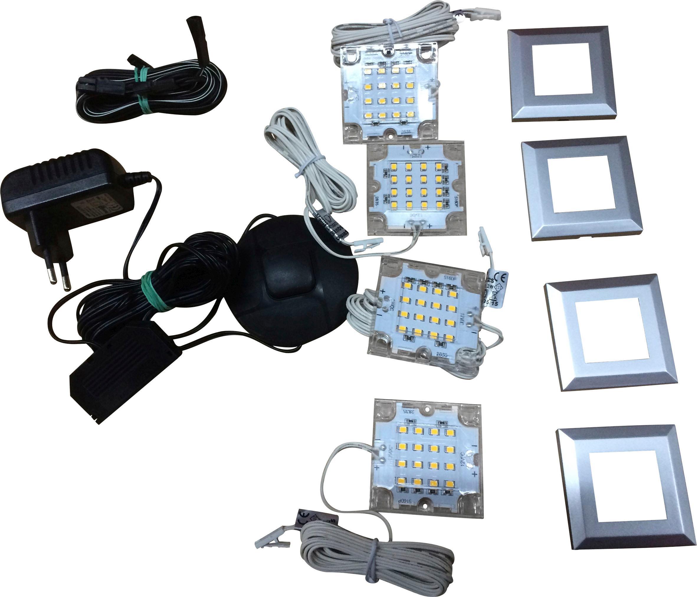 trendteam LED-Unterbauspots, (HLT), 1100-742-00