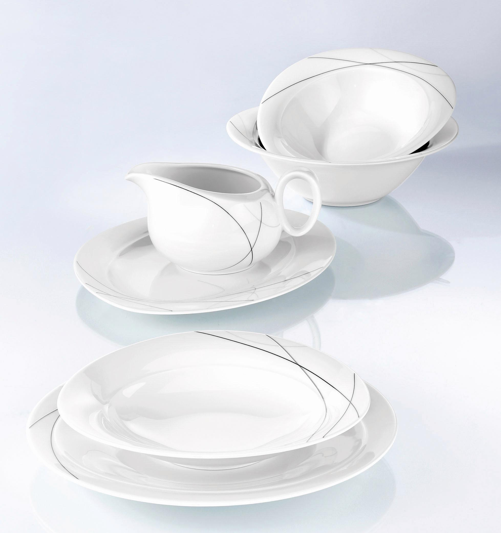 seltmann weiden tafelservice trio highline 16 tlg. Black Bedroom Furniture Sets. Home Design Ideas