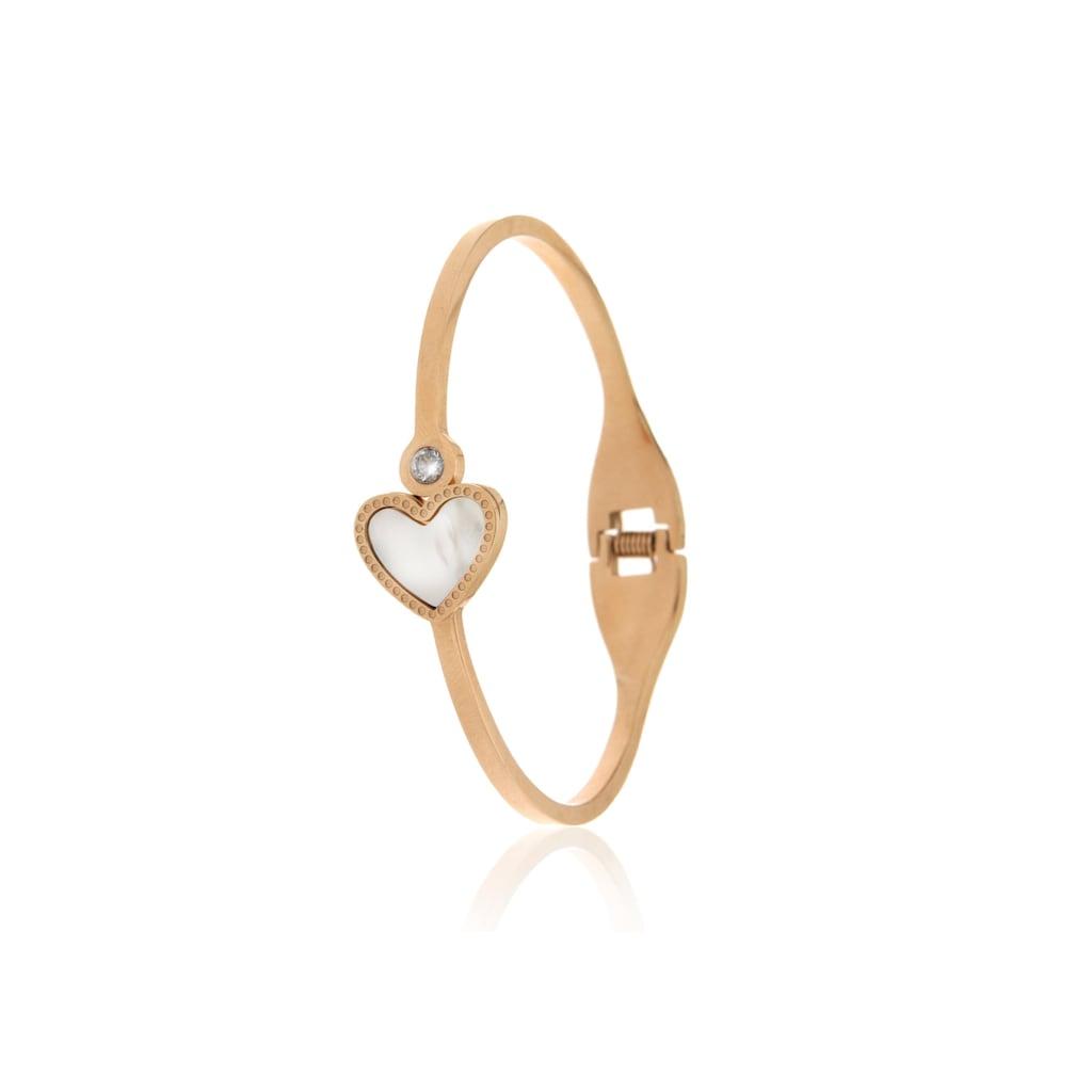 JULES & GENTS Armreif »Heart of Love«