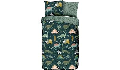 good morning Kinderbettwäsche »Dinoho«, mit Dinos kaufen