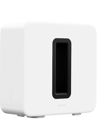Sonos »Sub (Gen3) WLAN - « Subwoofer (LAN (Ethernet), WLAN) kaufen