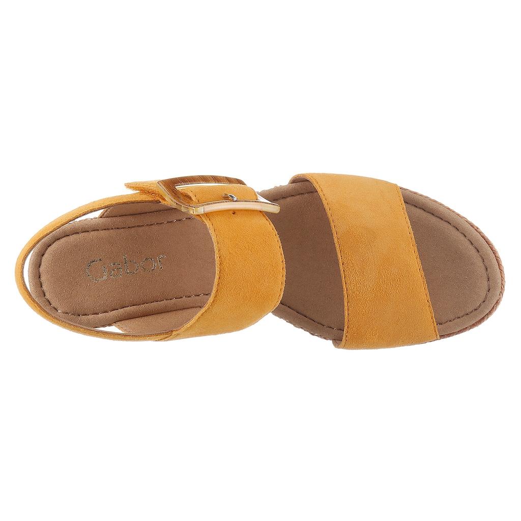 Gabor Sandalette, mit effektvoller Zierschnalle