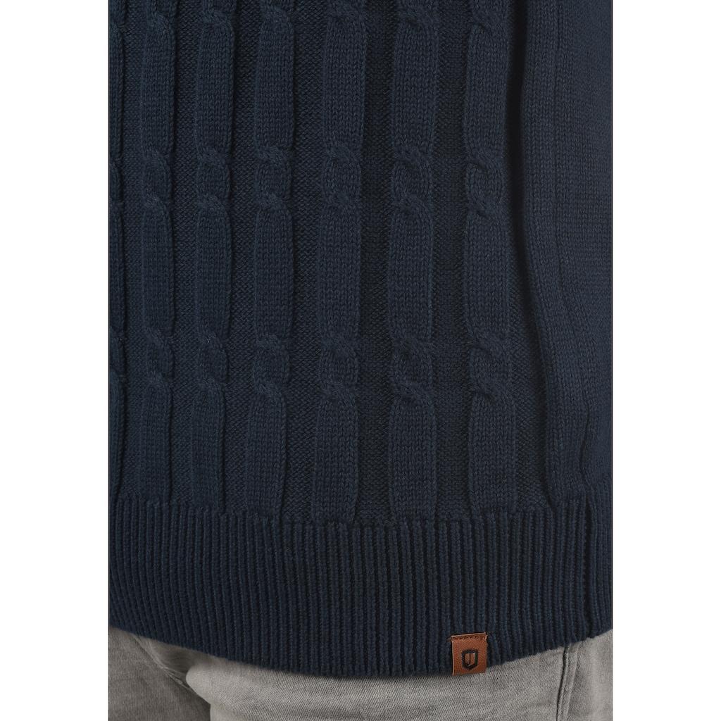 Indicode Strickpullover »Pauletta«, Strickpulli aus Grobstrick