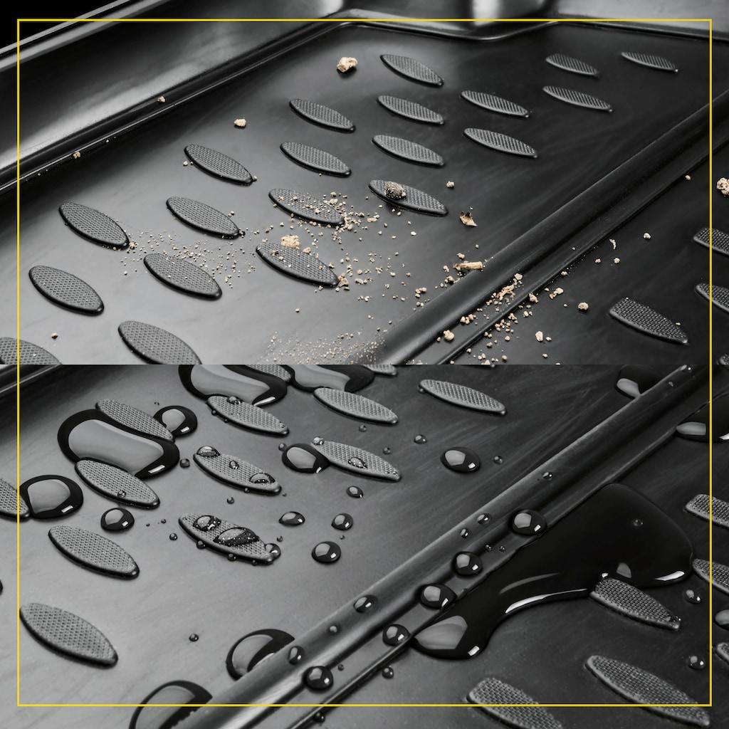 WALSER Passform-Fußmatten »XTR«, Skoda, Rapid, Schrägheck, (4 St., 2 Vordermatten, 2 Rückmatten), für Skoda Rapid BJ 07/2012 - heute