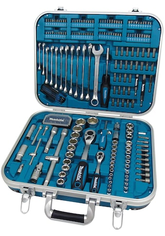 Makita Werkzeugset »P-90532«, (Set, 227 St.), umfangreiches Zubehör in einem robusten... kaufen