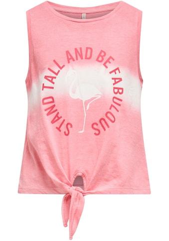 KIDS ONLY T-Shirt »KONTAYLOR«, mit kleinem Saumknoten kaufen