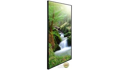 Papermoon Infrarotheizung »EcoHeat - Wasserfall«, Aluminium, 750 W, 60 x 120 cm, mit... kaufen