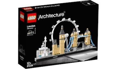LEGO® Konstruktionsspielsteine »London (21034), LEGO® Architecture«, (468 St.), Made in Europe kaufen