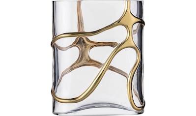 Eisch Dekovase »Stargate«, handveredelt mit Echtgoldbeschichtung kaufen