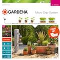 GARDENA Bewässerungssystem »Micro-Drip-System, 13002-20«, Start-Set Pflanztöpfe M automatic