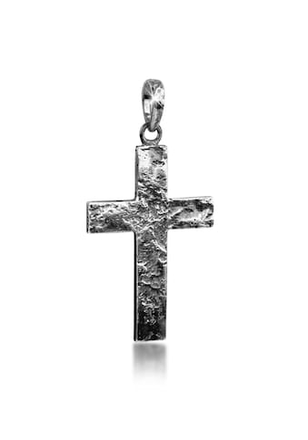 Kuzzoi Kettenanhänger »Herren Kreuz Kettenanhänger Symbol 925er Silber« kaufen