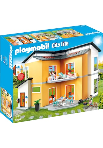 Playmobil® Konstruktions-Spielset »Modernes Wohnhaus (9266), City Life«, Made in Germany kaufen