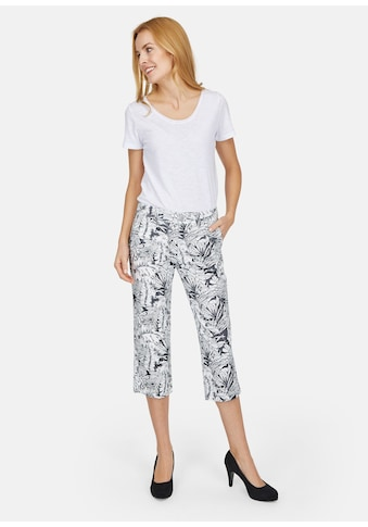 ANGELS 3/4 - Jeans ,Lia' mit floralem Print kaufen