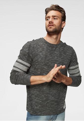 Rhode Island Langarmshirt, mit Kontraststreifen kaufen