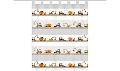 Herding Young Collection Vorhang »Baustelle«, Vorhang mit Baustellen-Motiv kaufen