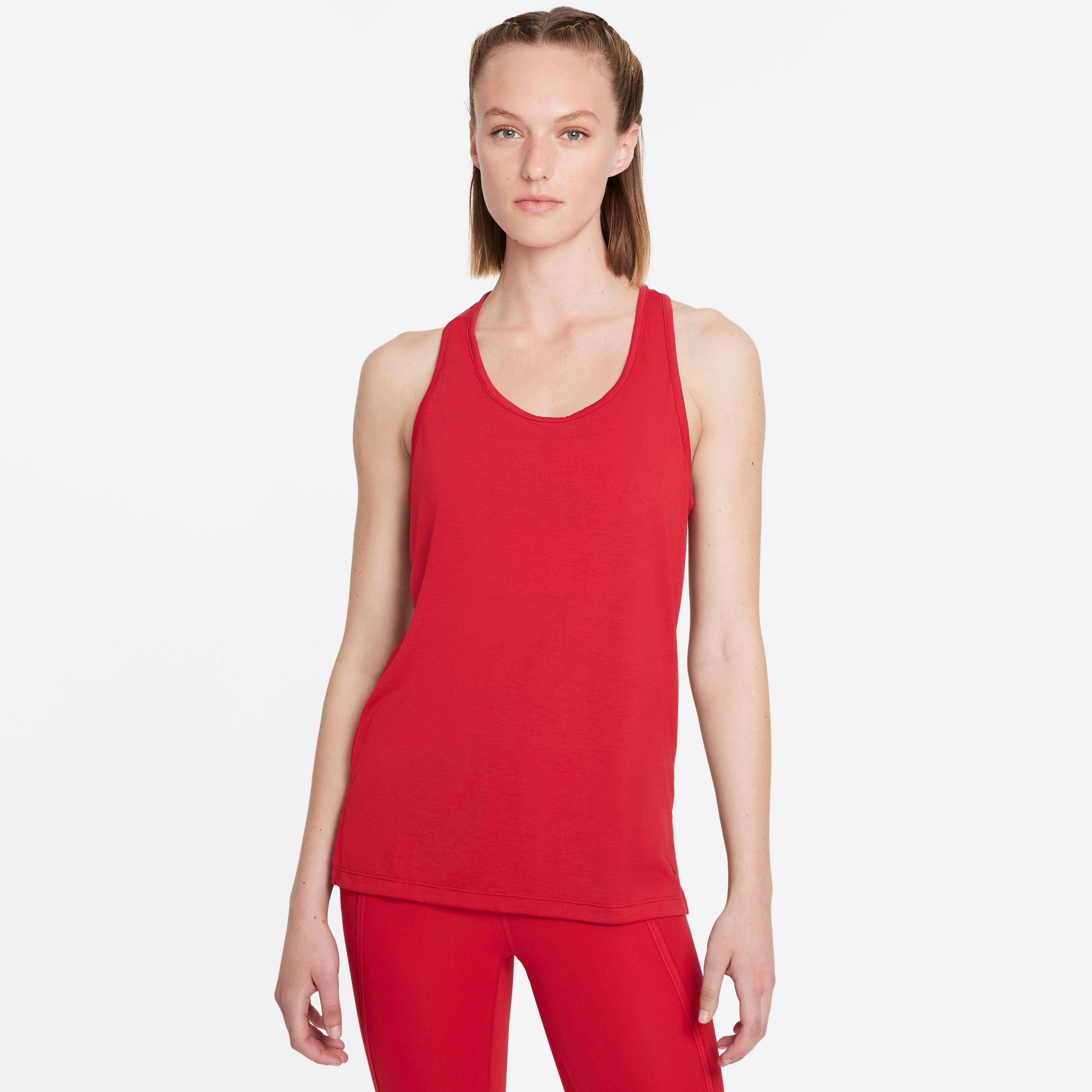 Nike Yogatop Yoga Women's Tank rot Damen Tops