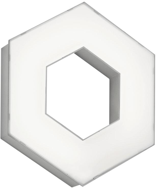 TRIO Leuchten LED Deckenleuchte SOLITAIRE, LED-Board, 1 St., Warmweiß, Erweiterungsmodul nur in Verbindung mit Basismodell Art.-Nr. 73713753 verwendbar, als Wand- und Deckenleuchte einsetzbar