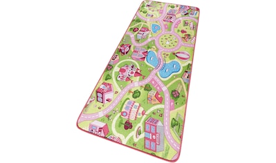 HANSE Home Kinderteppich »Sweettown«, rechteckig, 7 mm Höhe, Kinder Straßen-Spielteppich, Kurzflor kaufen