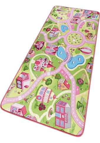 Kinderteppich, »Sweettown«, HANSE Home, rechteckig, Höhe 7 mm, maschinell getuftet kaufen