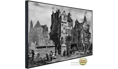 Papermoon Infrarotheizung »Gemälde Schwarz & Weiß«, sehr angenehme Strahlungswärme kaufen