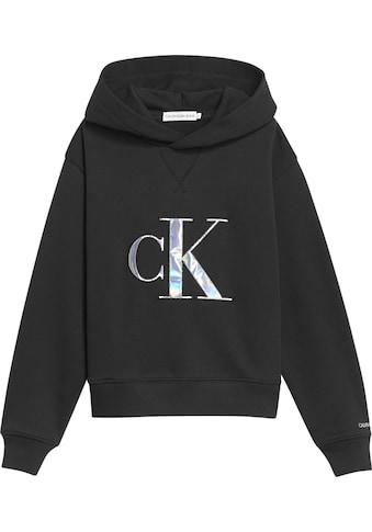 Calvin Klein Jeans Kapuzensweatshirt, mit aufwendiger Applikation kaufen