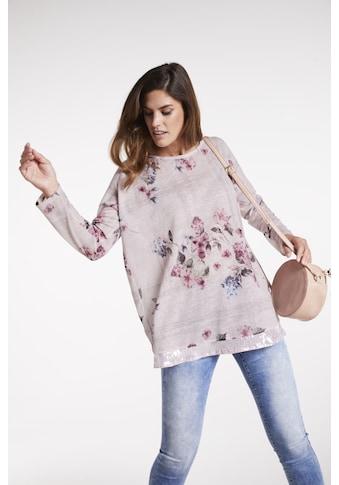 Druckshirt im floralen Design kaufen