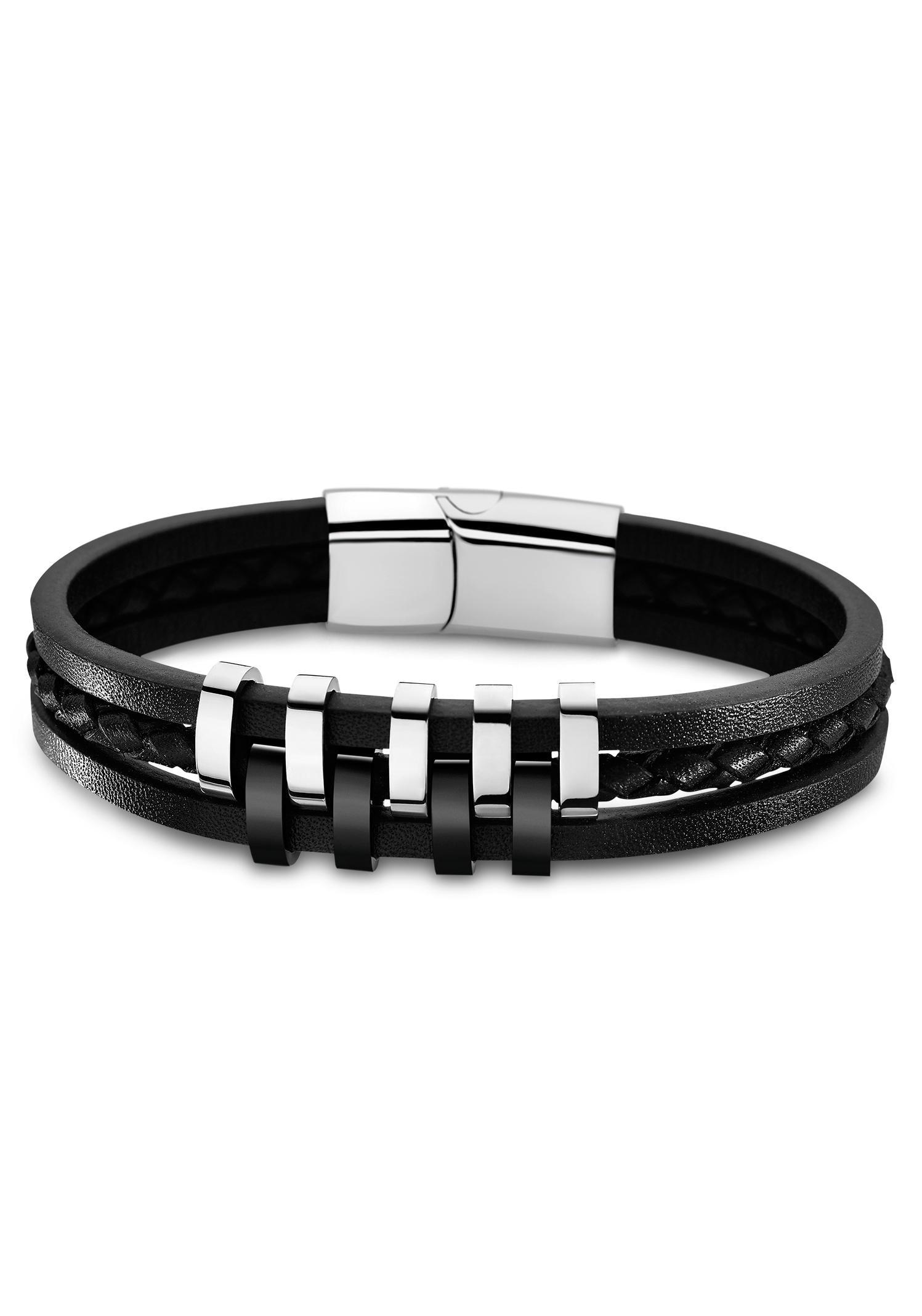 Lotus Style Armband LS1838-2/1   Schmuck > Armbänder > Sonstige Armbänder   Schwarz   Leder   Lotus Style