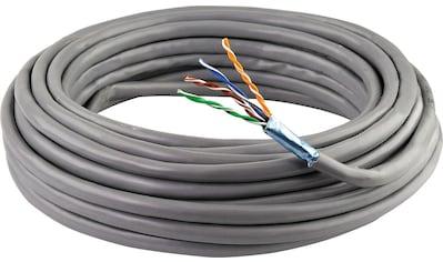 SCHWAIGER CAT5e Installationskabel, Netzwerkkabel, Ethernet LAN Kabel »Patchkabel ohne Stecker« kaufen