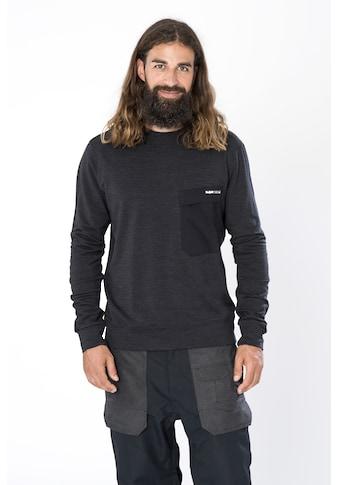 SUPER.NATURAL Sweatshirt »M ALPINE CREW«, feinster Merino-Materialmix kaufen