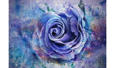 Consalnet Papiertapete »Blaue Vintage Blume«, floral kaufen