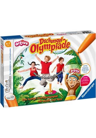 Ravensburger Spiel »tiptoi® ACTIVE Dschungel-Olympiade«, FSC® - schützt Wald -... kaufen