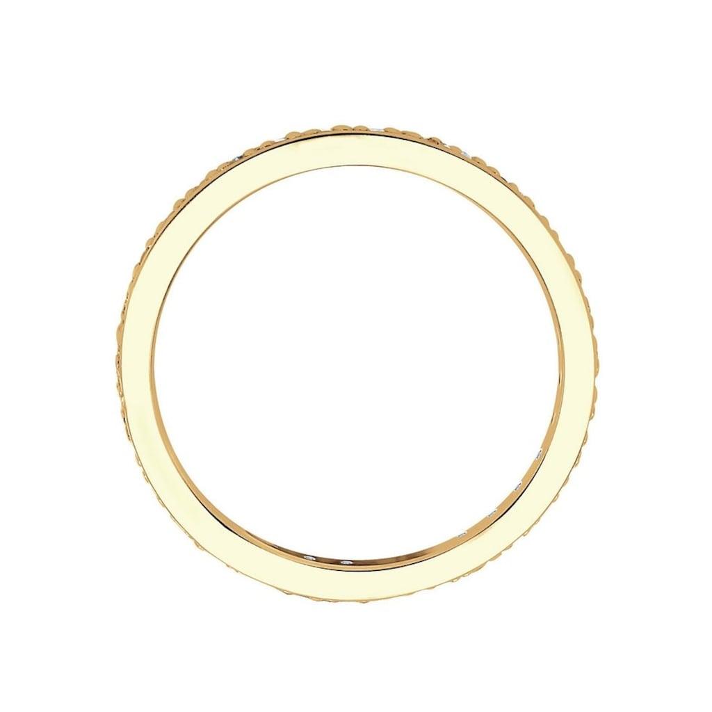 Diamore Memoirering »0612361813«, mit funkelnden Brillanten
