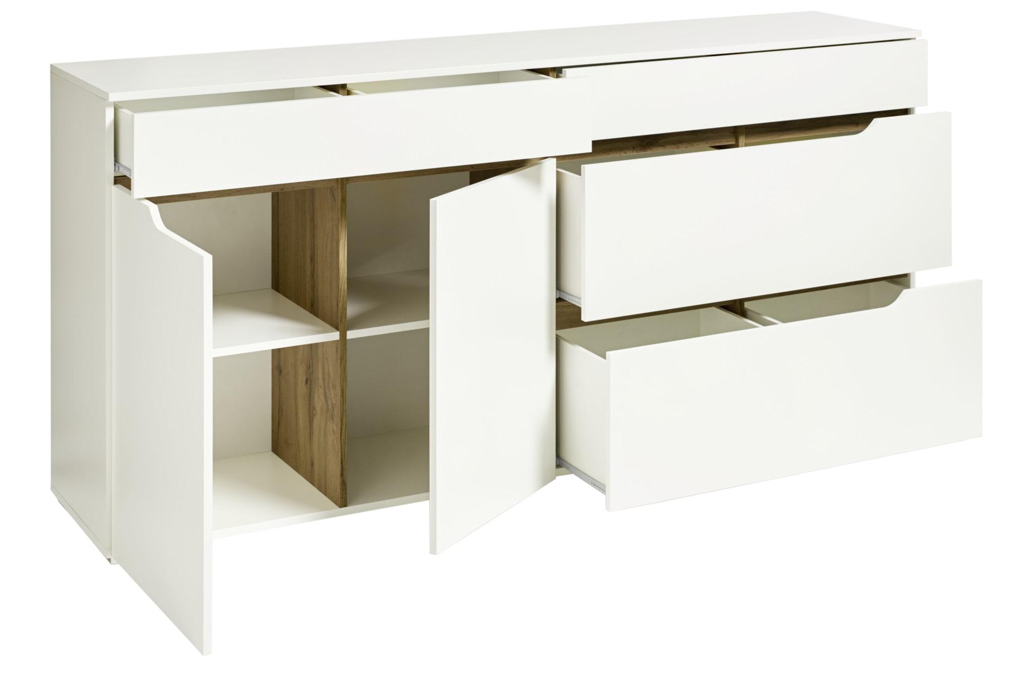 heine home Sideboard mit Blende in Eicheoptik | 04814917437981