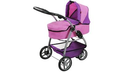 """Knorrtoys® Puppenwagen """"Cico  -  pink purple"""" kaufen"""