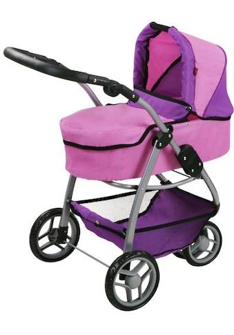 Knorrtoys® Puppenwagen »Cico - pink purple«, 2-in-1 kaufen