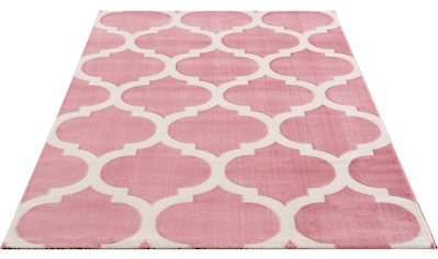Home affaire Teppich »Fenris«, rechteckig, 12 mm Höhe, mit handgearbeitetem... kaufen
