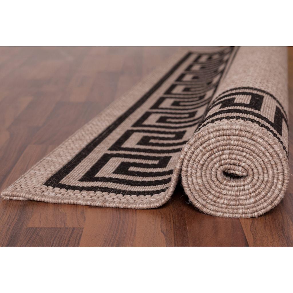 LALEE Teppich »Finca 502«, rechteckig, 5 mm Höhe, Sisal-Optik, Wohnzimmer