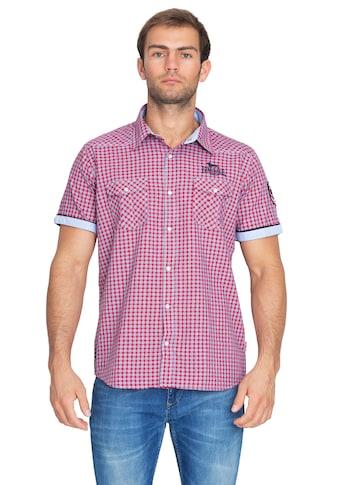 Lonsdale Kurzarm - Hemd mit Karo - Muster »SHORTSLEEVE BERNY« kaufen