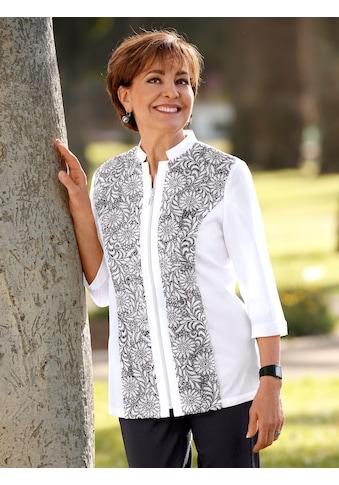 Paola Blusenjacke, mit Spitzenbesatz kaufen