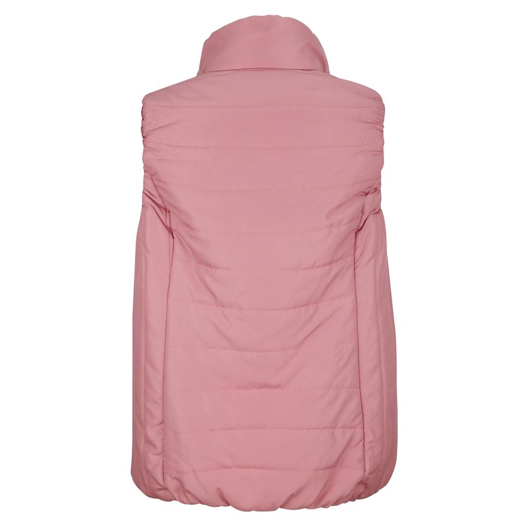 Paola Steppweste mit praktischer Nahttasche