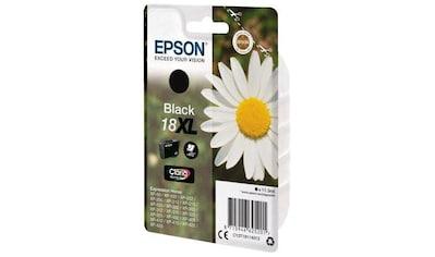 Epson »T1811, 18XL Original Schwarz C13T18114012« Tintenpatrone kaufen