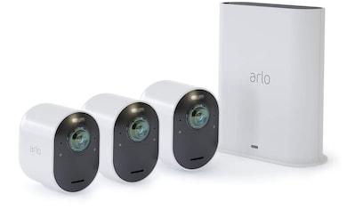 ARLO Ultra 4K UHD Sicherheitssystem »Kabelloses 4K - UHD - Überwachungssystem + 3x Kamera« kaufen